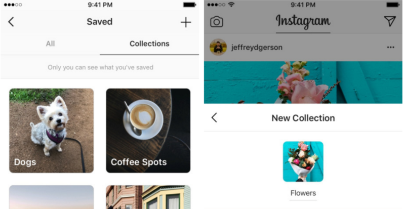 Instagram's new 'collections' make it a lot easier to organize your favorite images ...
