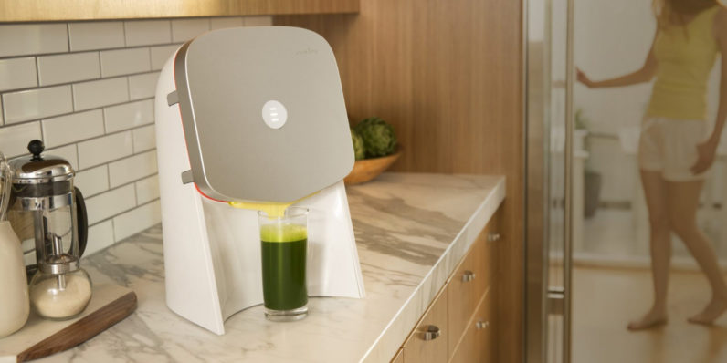 This $400 juicer that does nothing but squeeze juice packs is peak Silicon Valley