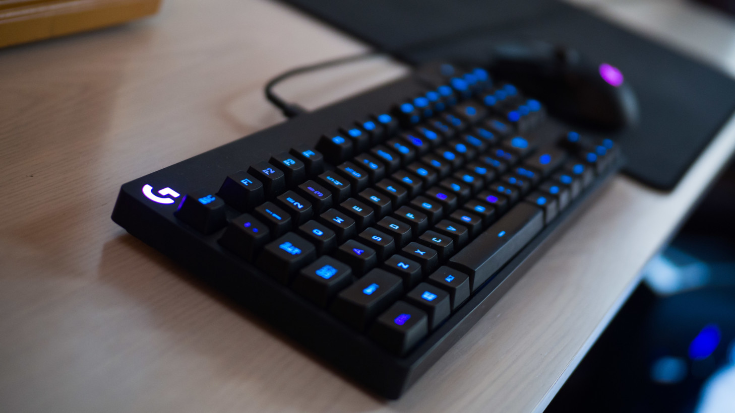 Review Logitechs G Pro Keyboard Is Overkill Of The Best Kind Wireless Mini I8 With 3 Colour Backlight