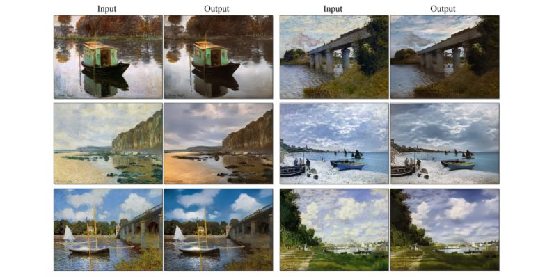 Science turns paintings into photos because Prisma is so 2016
