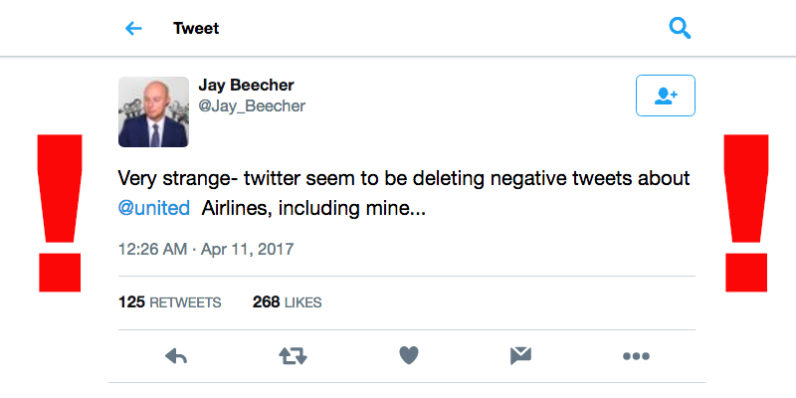 twitter, united airlines
