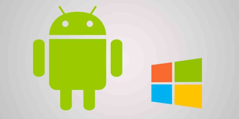 android, windows