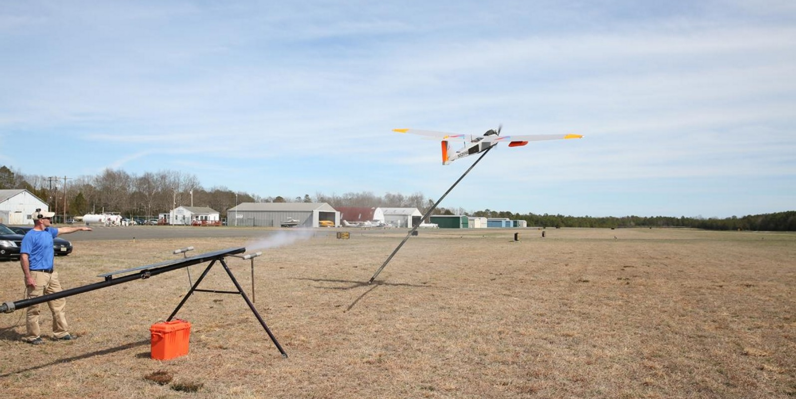 Verizon tests a giant drone that provides cell service after disasters