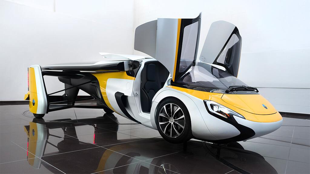 Aeromobil's flying car