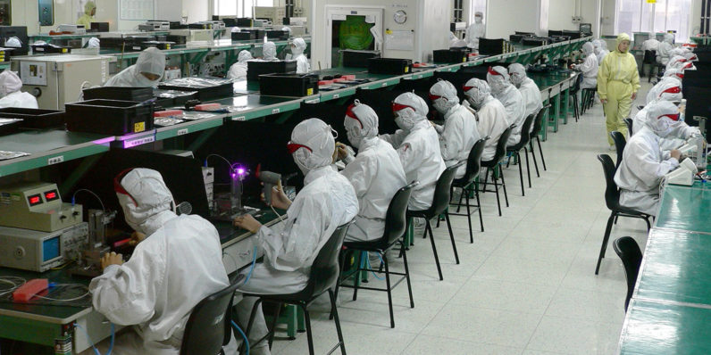 NYU student goes undercover at Chinese iPhone factory