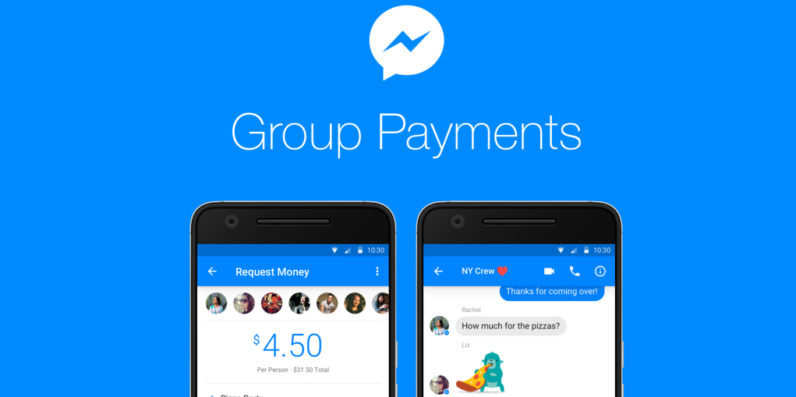 Facebook adds group payment feature to help make sure shady friends pay up