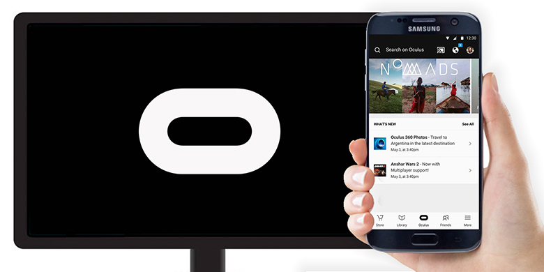 Oculus makes the Gear VR a bit less lonely by adding Google Cast support