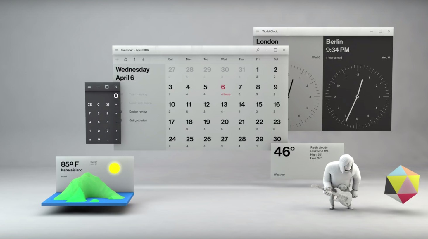 Microsoft Fluent Design System: Breaking down Windows 10's ...