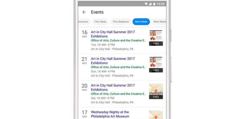 Google's new event-finder wants to fix your lame social life