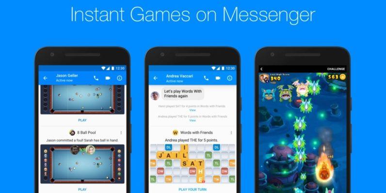 Facebook Messenger instant games go global