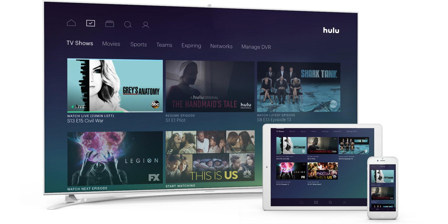 Hulu Now Serves Up 50 Live Tv Channels For 40 A Month