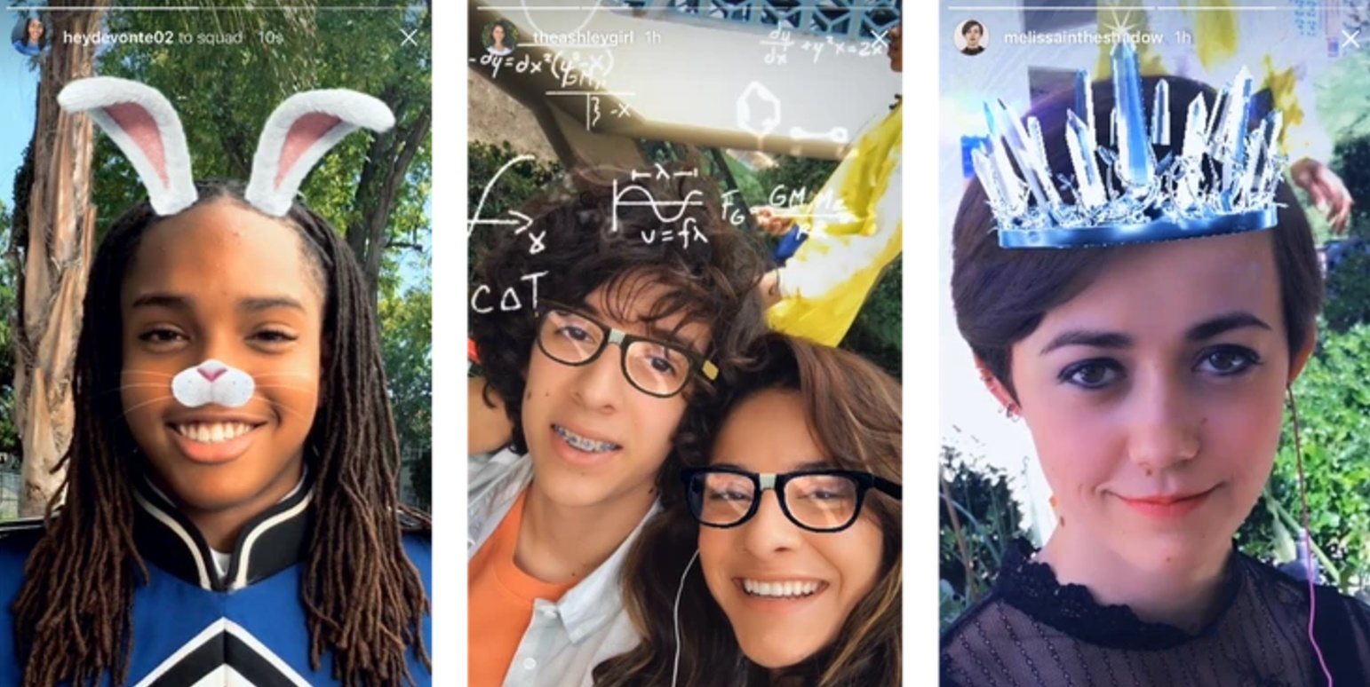 Instagram adds Face Filters, because of course it did