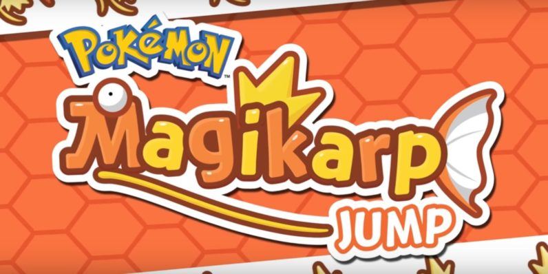 f6830939 Magikarp Jump, the latest mobile Pokémon game, is out today