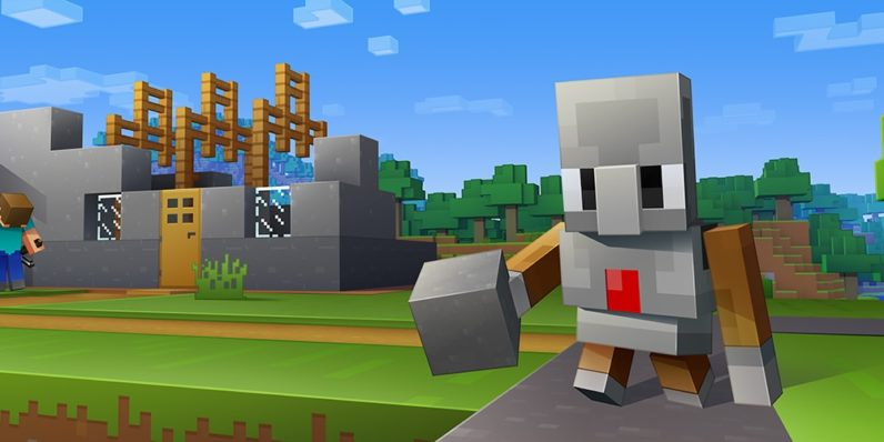 Minecraft Code Builder introduces programming to block-stacking students