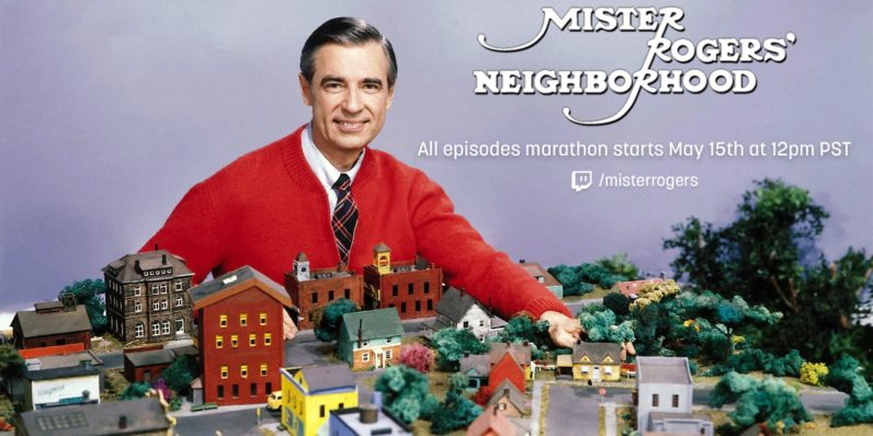 Twitch will marathon 886 episodes of Mister Rogers