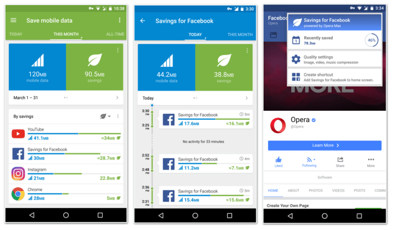 Opera Max wants to stop Facebook from draining your data allowance