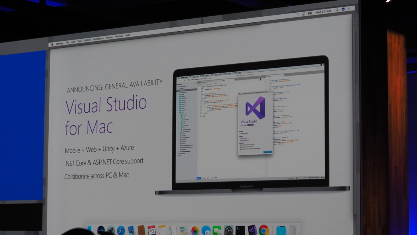 Microsoft releases Visual Studio for macOS to everyone