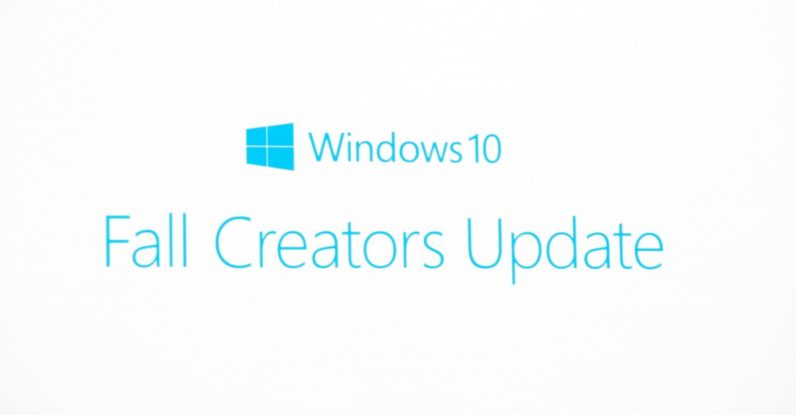 Microsoft announces the Windows 10 'Fall Creators Update'
