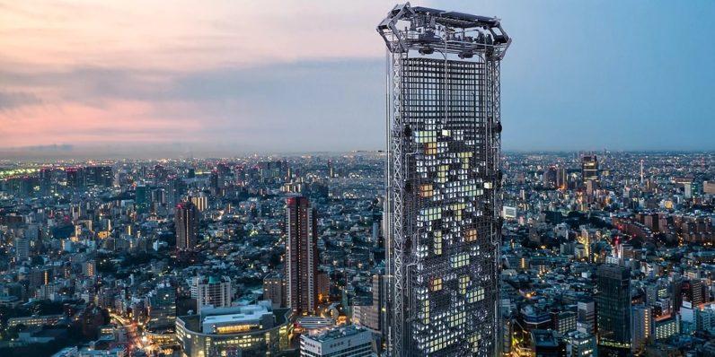Student designs skyscraper that 3D-prints custom apartments