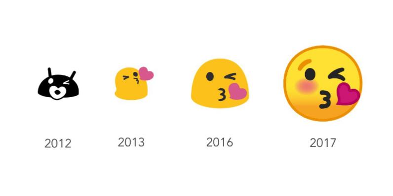 google, android, emoji