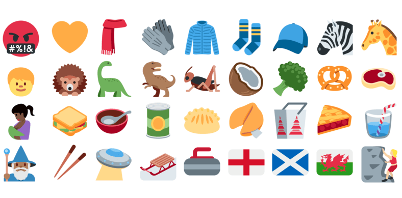 303a00745a48 Twitter adds 239 new emoji – but not everyone can see them all just yet