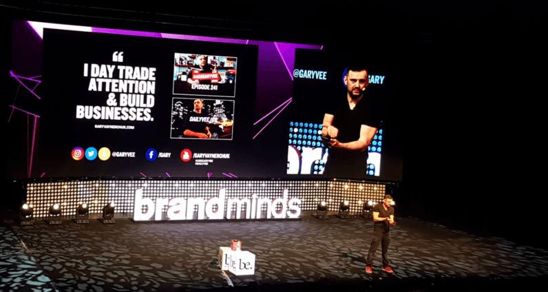Gary Vaynerchuk Brandminds conference