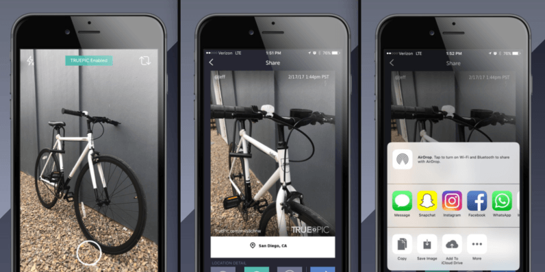 Truepic launches app that authenticates your pictures on the spot