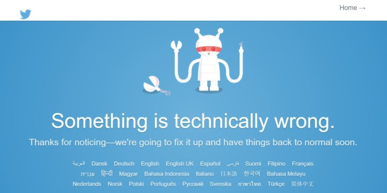 It's not just you: Twitter is down for many users