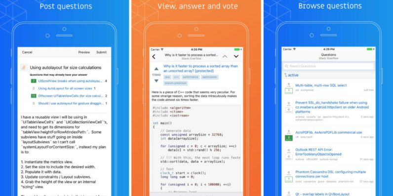 Stack Overflow launches apps to let you ask idiotic programming questions on the move