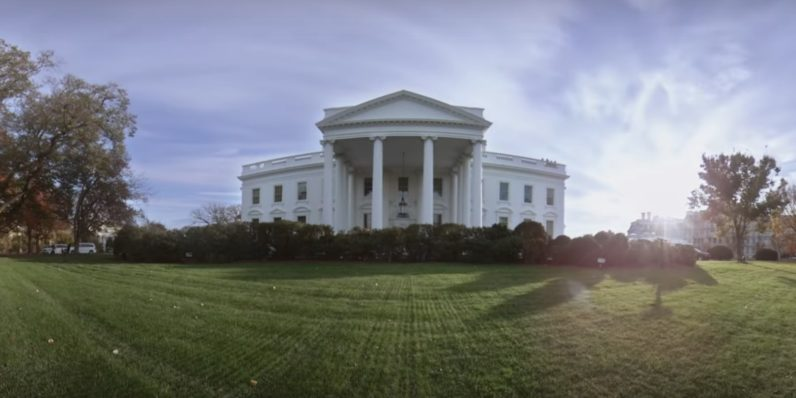 Obama's VR tour of the White House almost makes those stupid headsets worth it