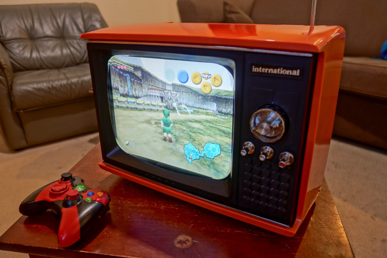 This old portable TV is actually a Raspberry Pi-powered