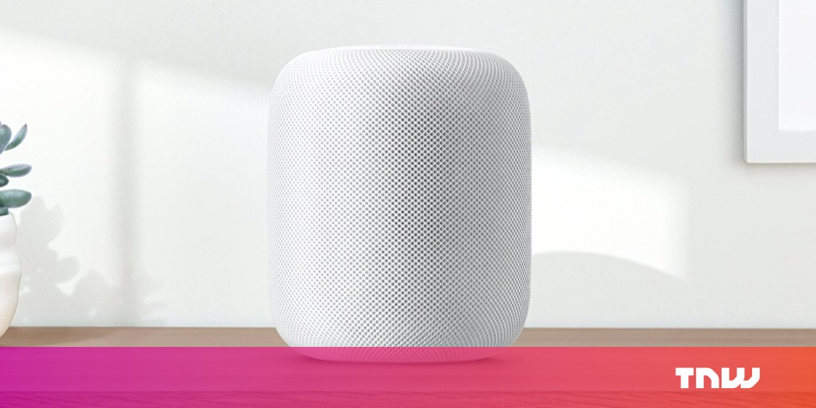 photo image Apple's HomePod is delayed until early next year