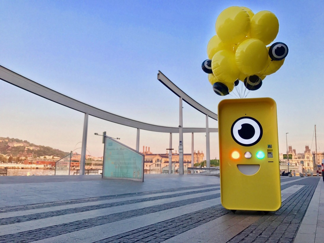 Snap spectacles vending machine integrated marketing campaign