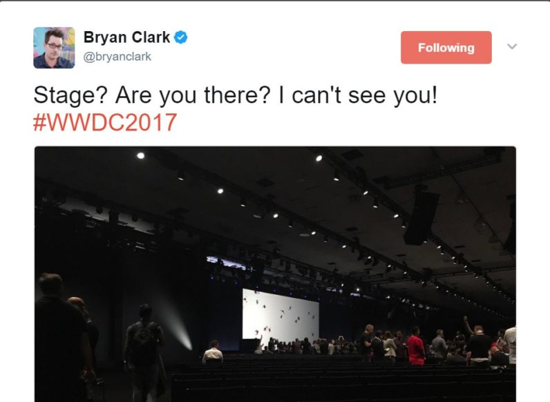 Devs were front-and-center at WWDC 2017 (literally)