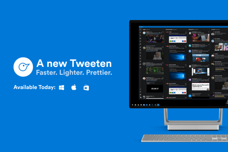 Tweeten 2 updates the best Tweetdeck replacement with filters and better GIF support