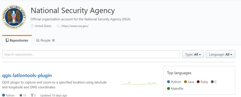 The NSA (yes, that NSA) has a Github account now