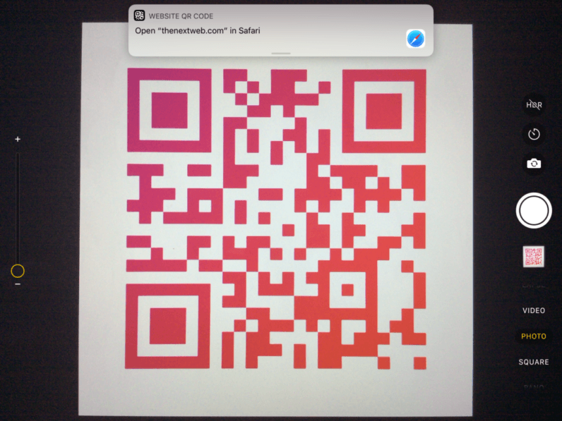 iOS 11 makes QR codes cool again