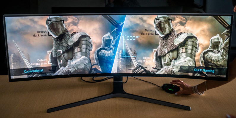 Samsung's insane 32:9 gaming monitor laughs at your dual monitor setup