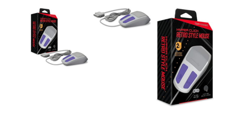 The classic SNES mouse is coming back to complete the full retro gaming experience