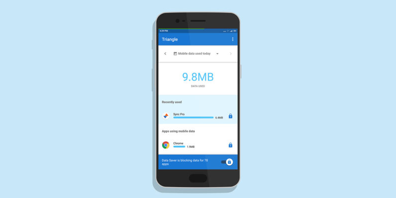 Google's new Android app makes it easy to save mobile data on the go