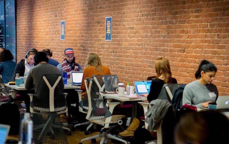 This co-working space is basically an adult daycare that takes away your phone for $40