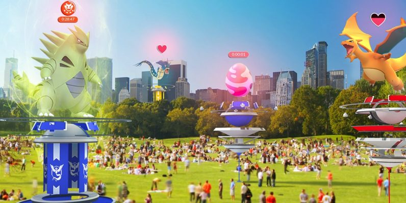 Pokémon GO adds raids to help you make new friends