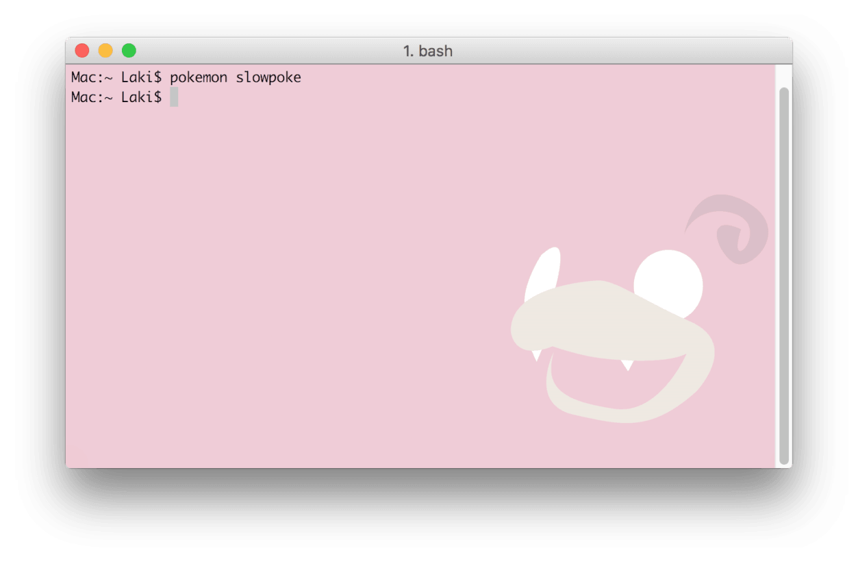 Pokemon-loving developers are going to want this Poke-themed terminal