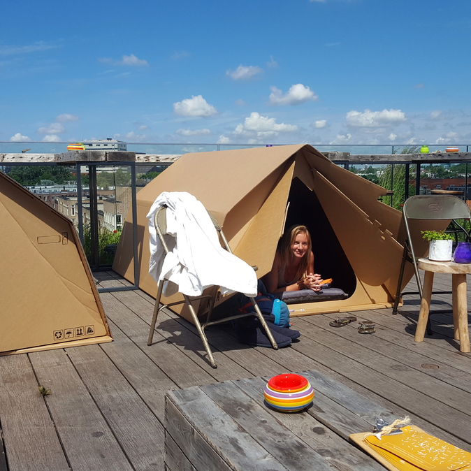 Everything about this 'Airbnb for camping on balconies' smells like farts