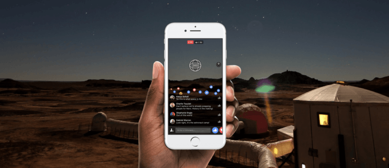 Facebook Live 360 streams can now be watched in 4K and VR