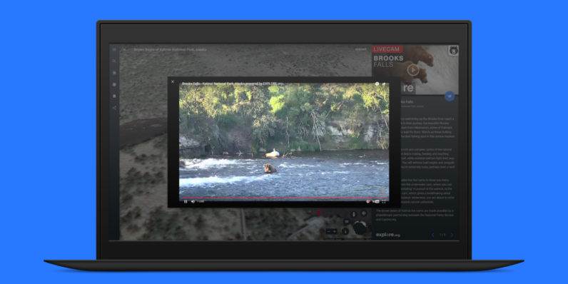 Google Earth adds live video feeds for watching natural wonders in real-time