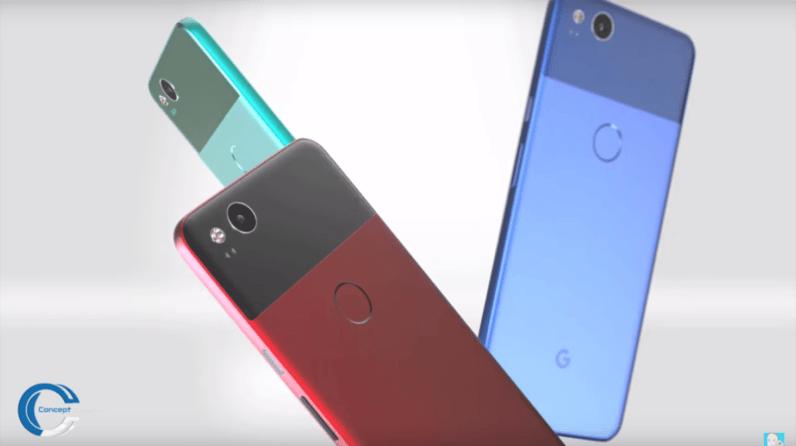 The Google Pixel 2 will be gorgeous, according to these renders