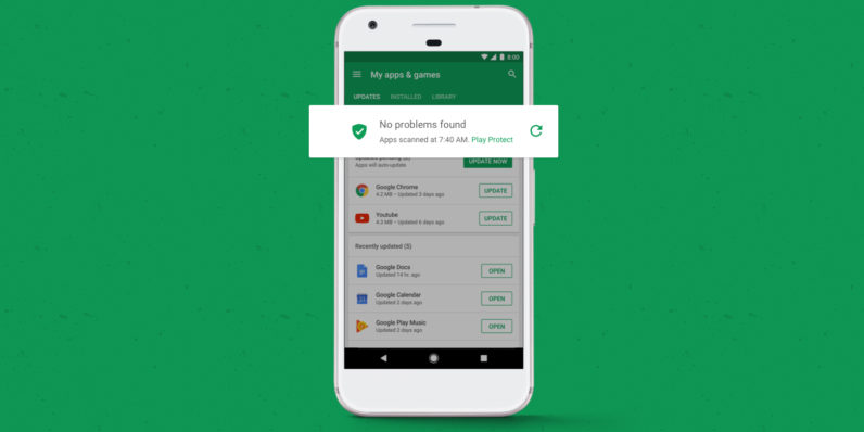 Google takes on Android malware head-on with Play Protect