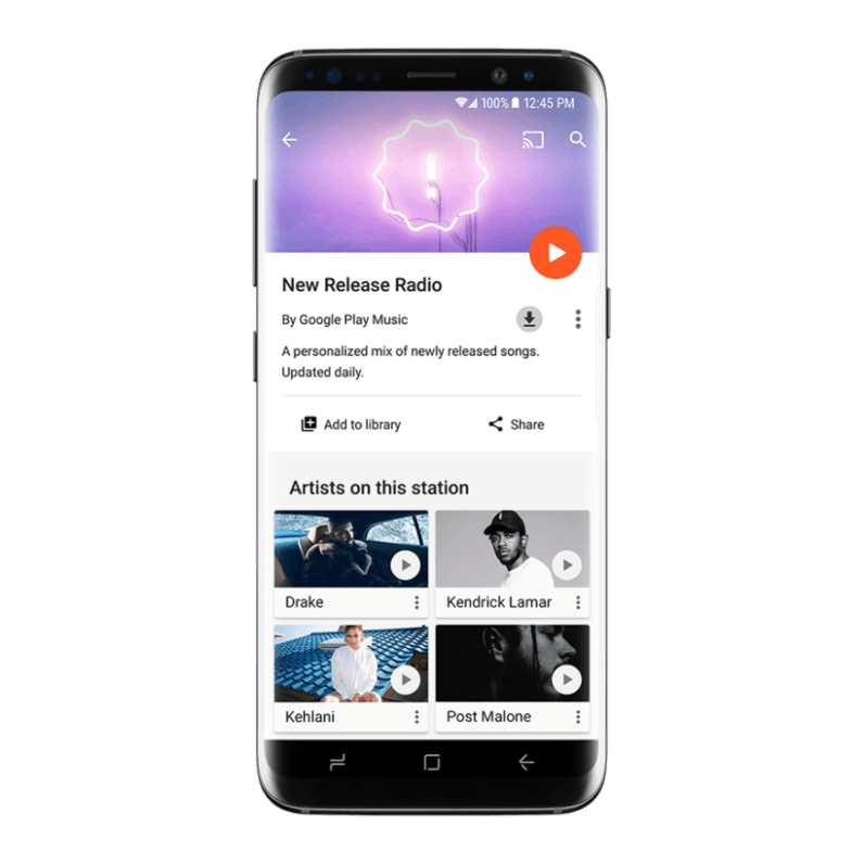 Google Play Music just made it a lot easier to find new songs