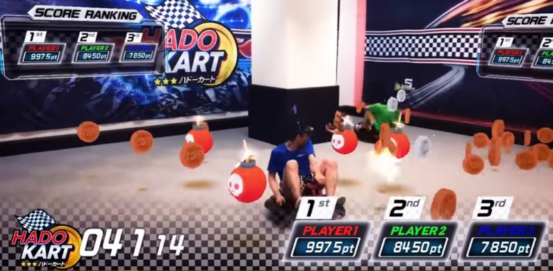 Mario Kart in real life is the best use of AR so far